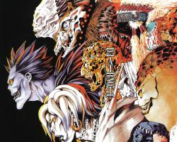 Картина по номерам на холсте Death Note