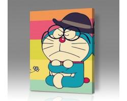 Картина по номерам на холсте Doraemon