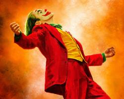 Картина по номерам на холсте Джокер 2019