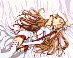 Картина по номерам на холсте Юки Асуна. SAO