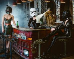Картина по номерам на холсте Star Wars. Трофей Империи