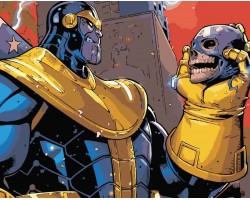 Картина по номерам на холсте Thanos, 40см*50см