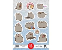 Набор бумажных наклеек №1 (котики)