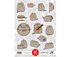 Набор бумажных наклеек №8 (котики)