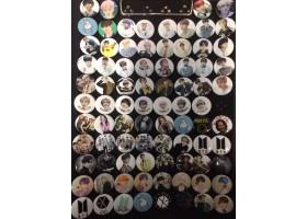 Значки металлические 25 мм k-pop
