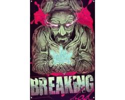 Металический постер Breaking Bad