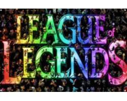 Металический постер League of Legends