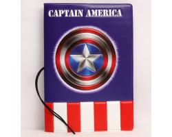 Обложка на паспорт Капитан Америка