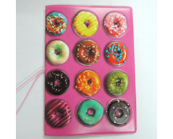 Обложка на паспорт Пончики
