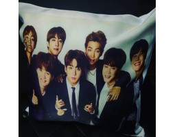 Сувенирная подушка new BTS 2