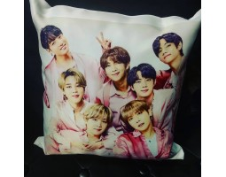 Сувенирная подушка new BTS 3