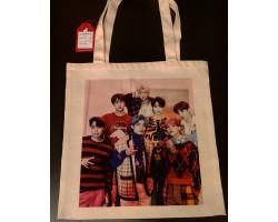 Сувенирная сумка шоппер BTS 4