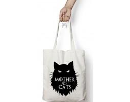 """Сумка-шоппер """"Мать котов"""""""