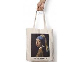 """Сумка-шоппер """"Вермеер. Девушка с жемчужной сережкой"""""""